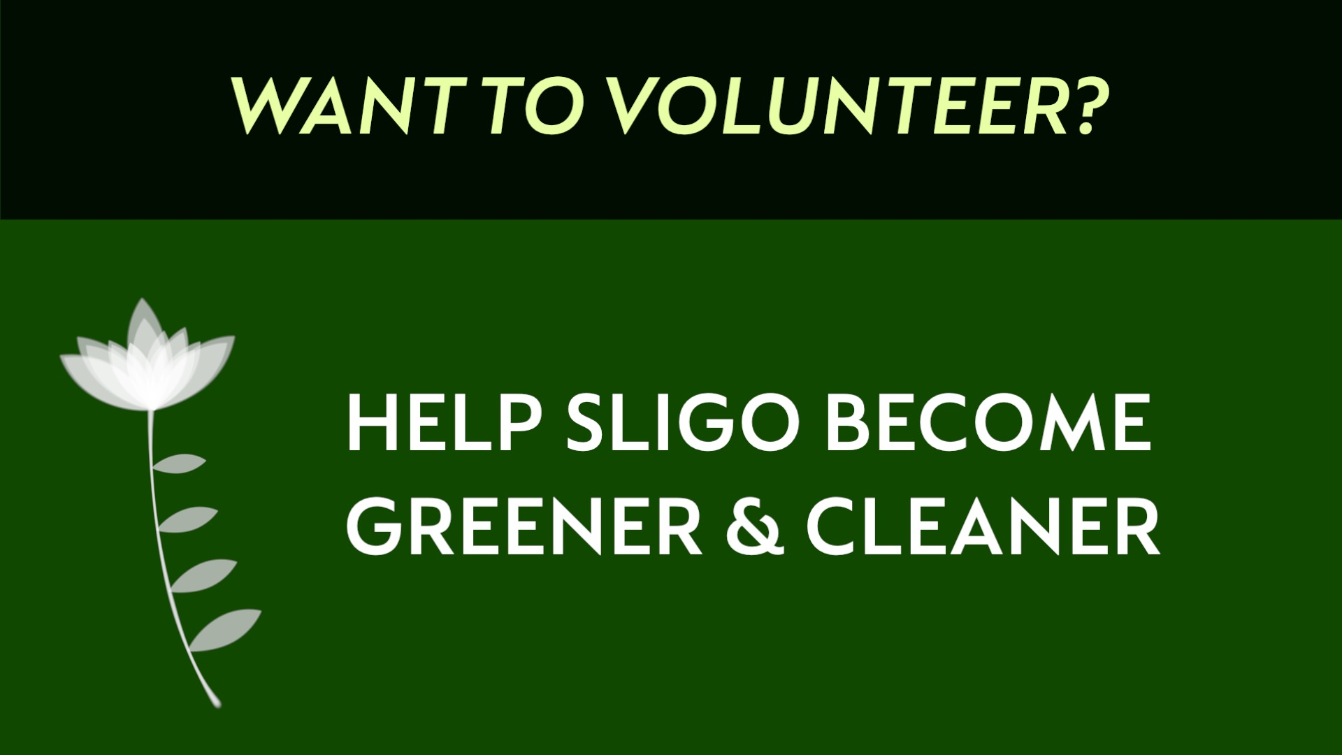 BLog 5 - Tips on Volunteering in Sligo