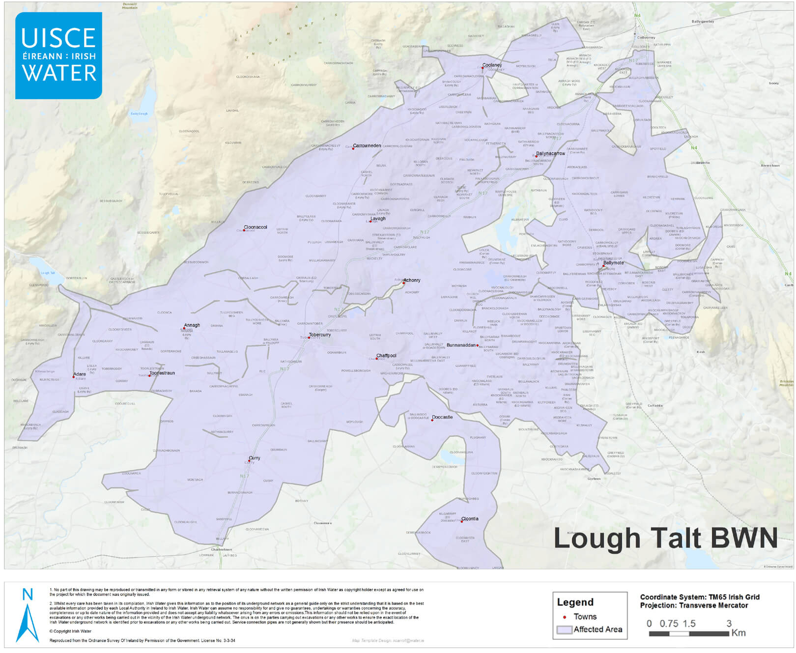 Boil Notice - Lough Talt Water Supply