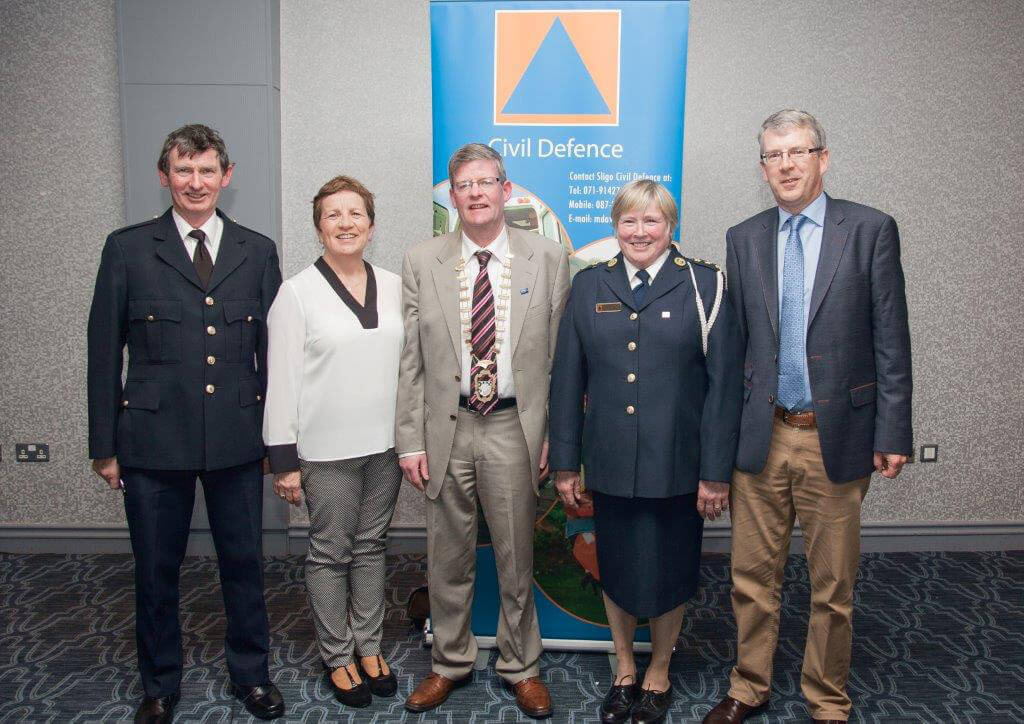 Cathaoirleach Commends Civil Defence Volunteers