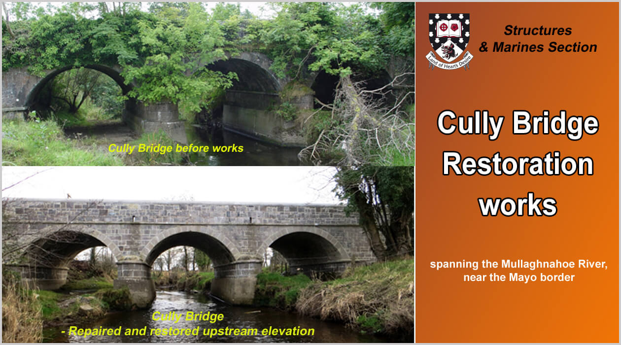 Restoration Works at Cully Bridge