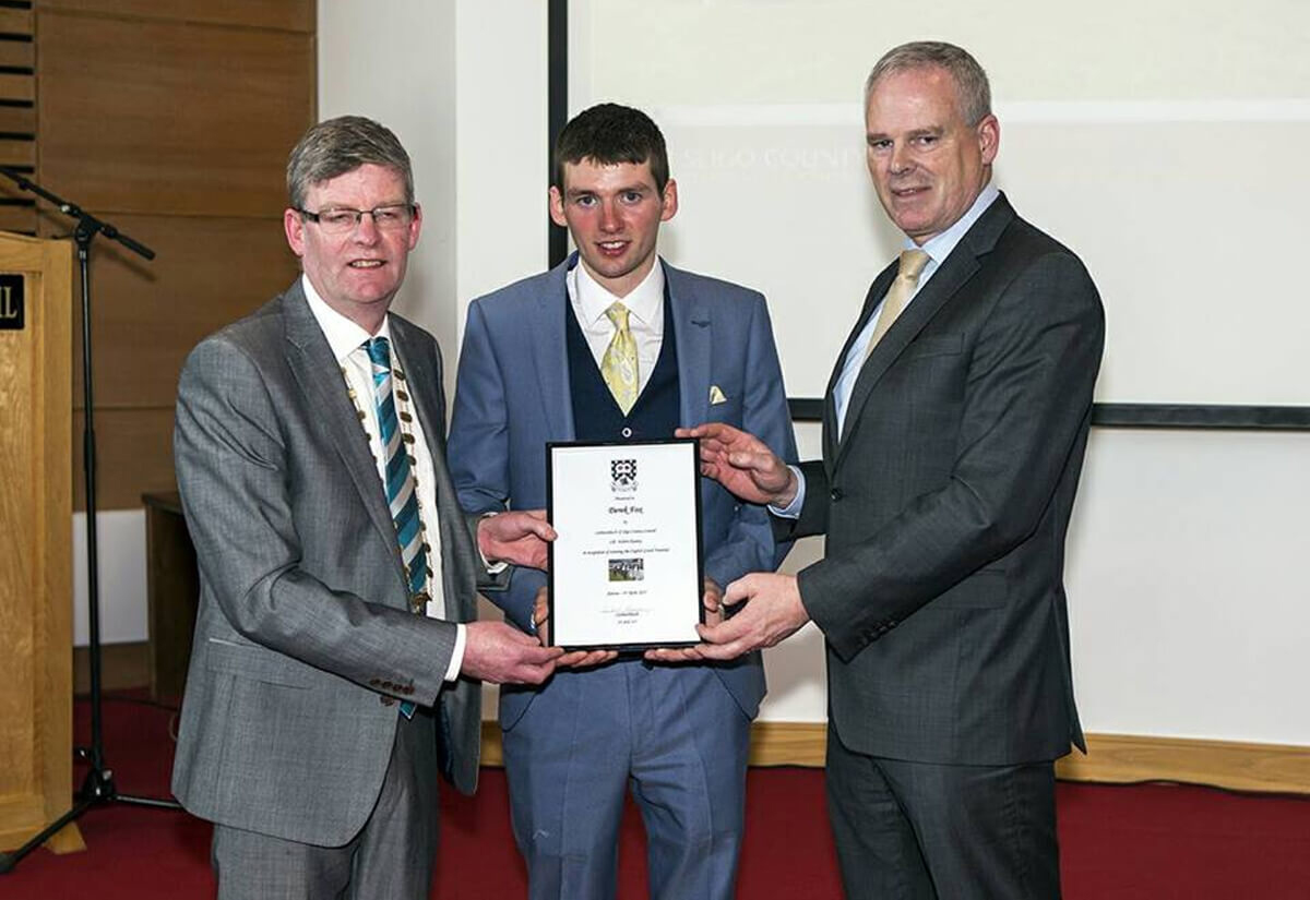 Civic Reception for Grand National Champion Derek Fox