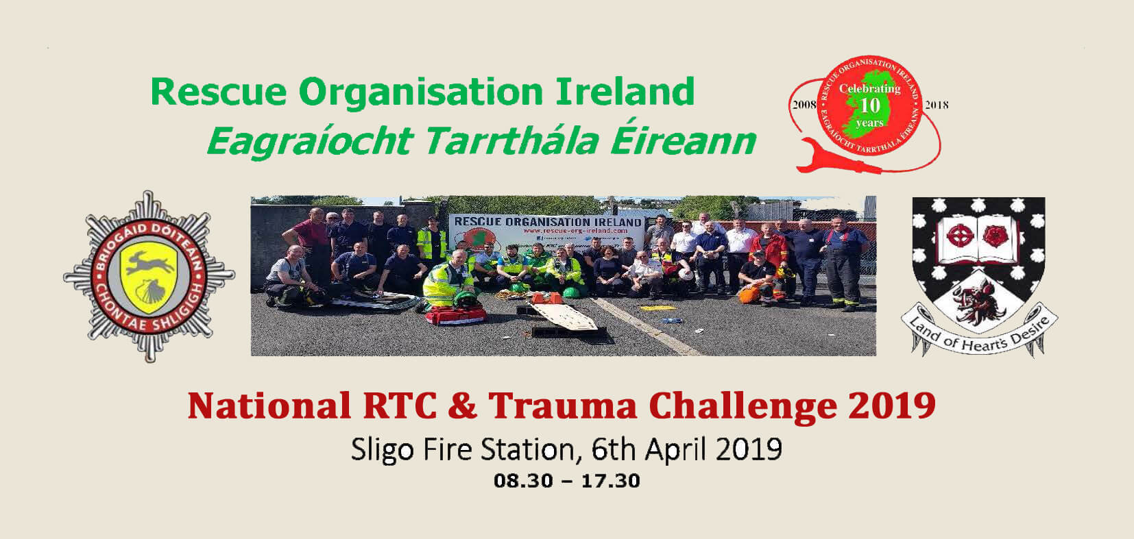 National Rescue Challenge Being Hosted in Sligo