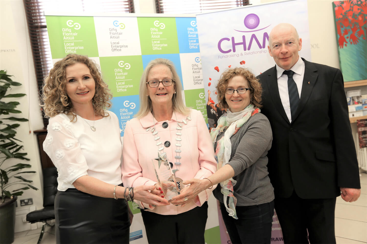 Champ Cloud Software are Sligo's Enterprise Award Winners for 2019
