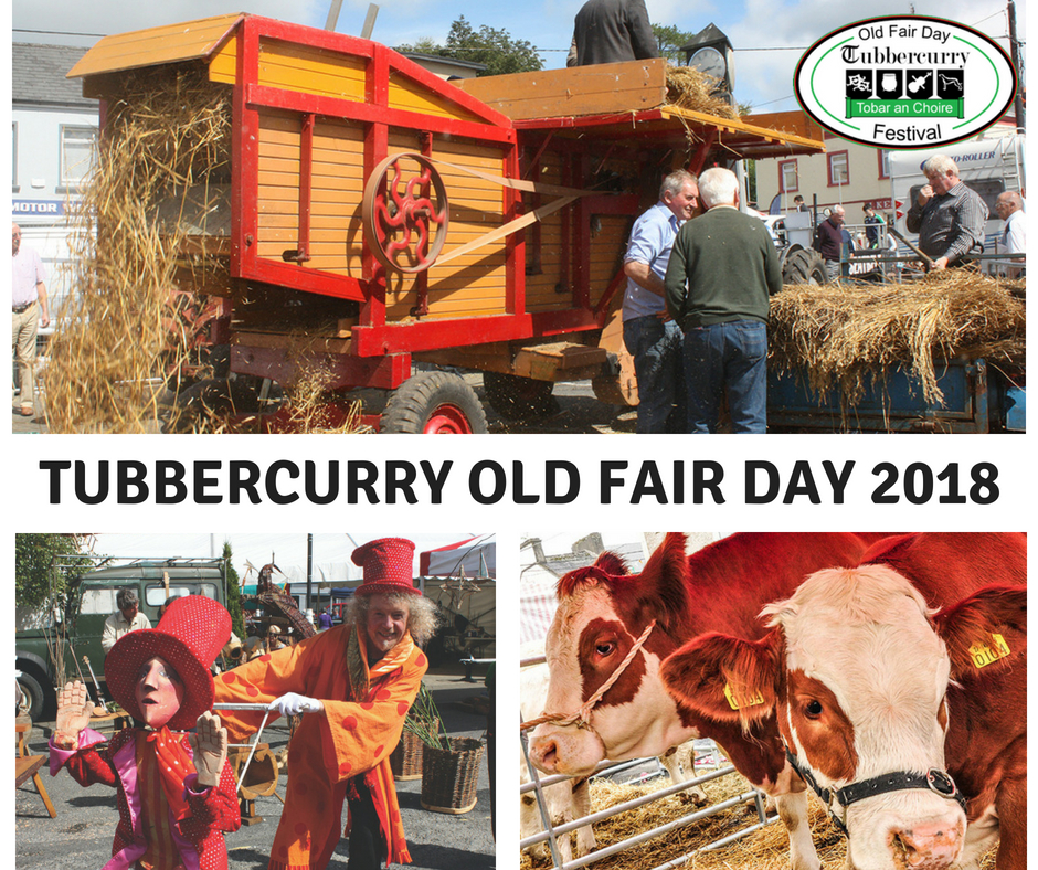 Tubbercurry Old Fair Day Festival 2018