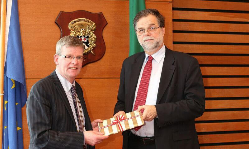 Austrian Ambassador Visits County Hall