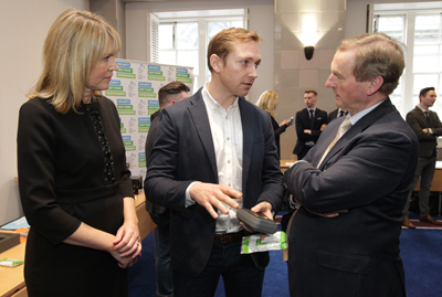Sligo's IBYE National Finalist meets with An Taoiseach