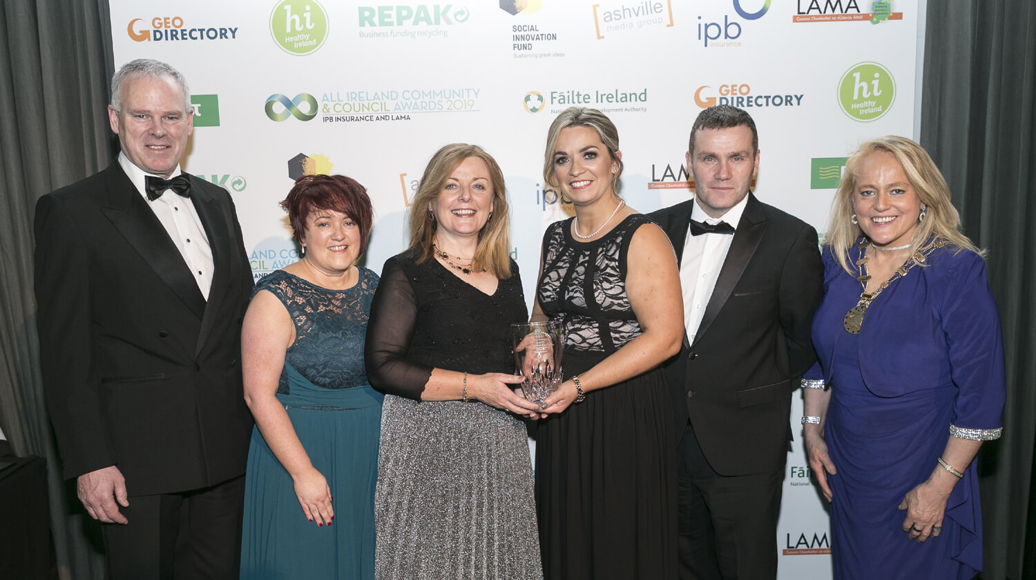 Best Tourism Award for South and West Sligo Tourism at Croke Park