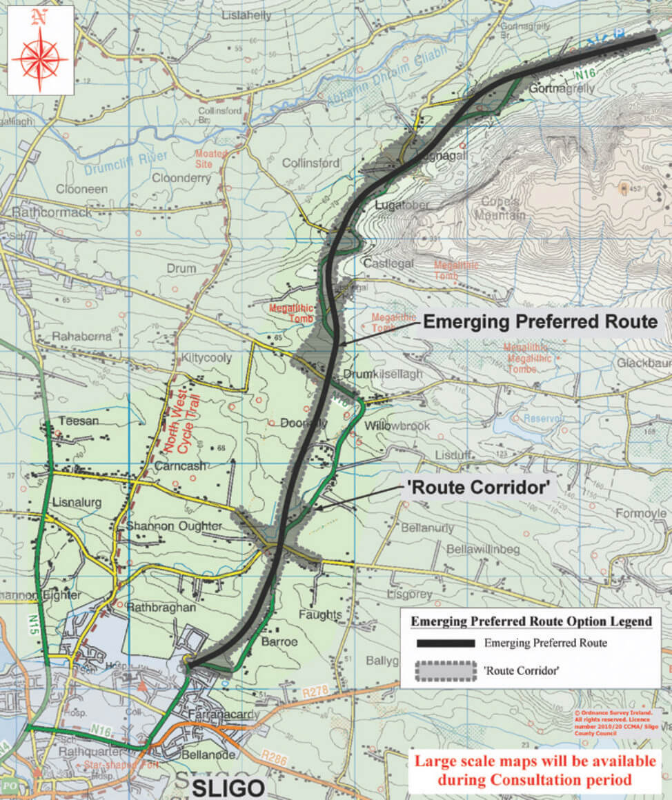 N16 SLIGO TO COUNTY BOUNDARY PUBLIC CONSULTATION