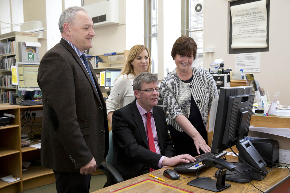 Sligo Library Service Introduce New Computer System