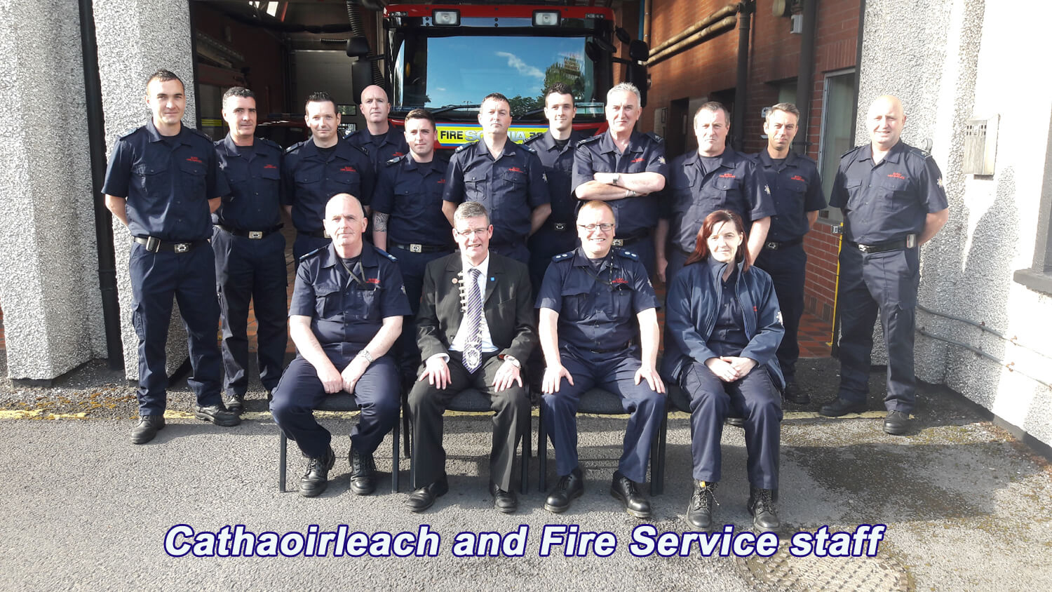 Cathaoirleach Commends Sligo Fire Service Personnel