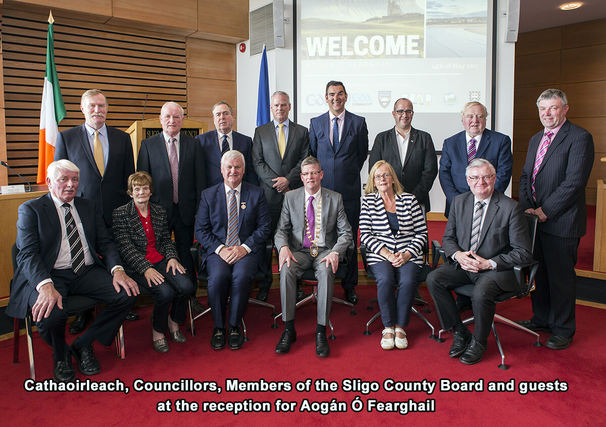 Council Honours GAA President Photo 2