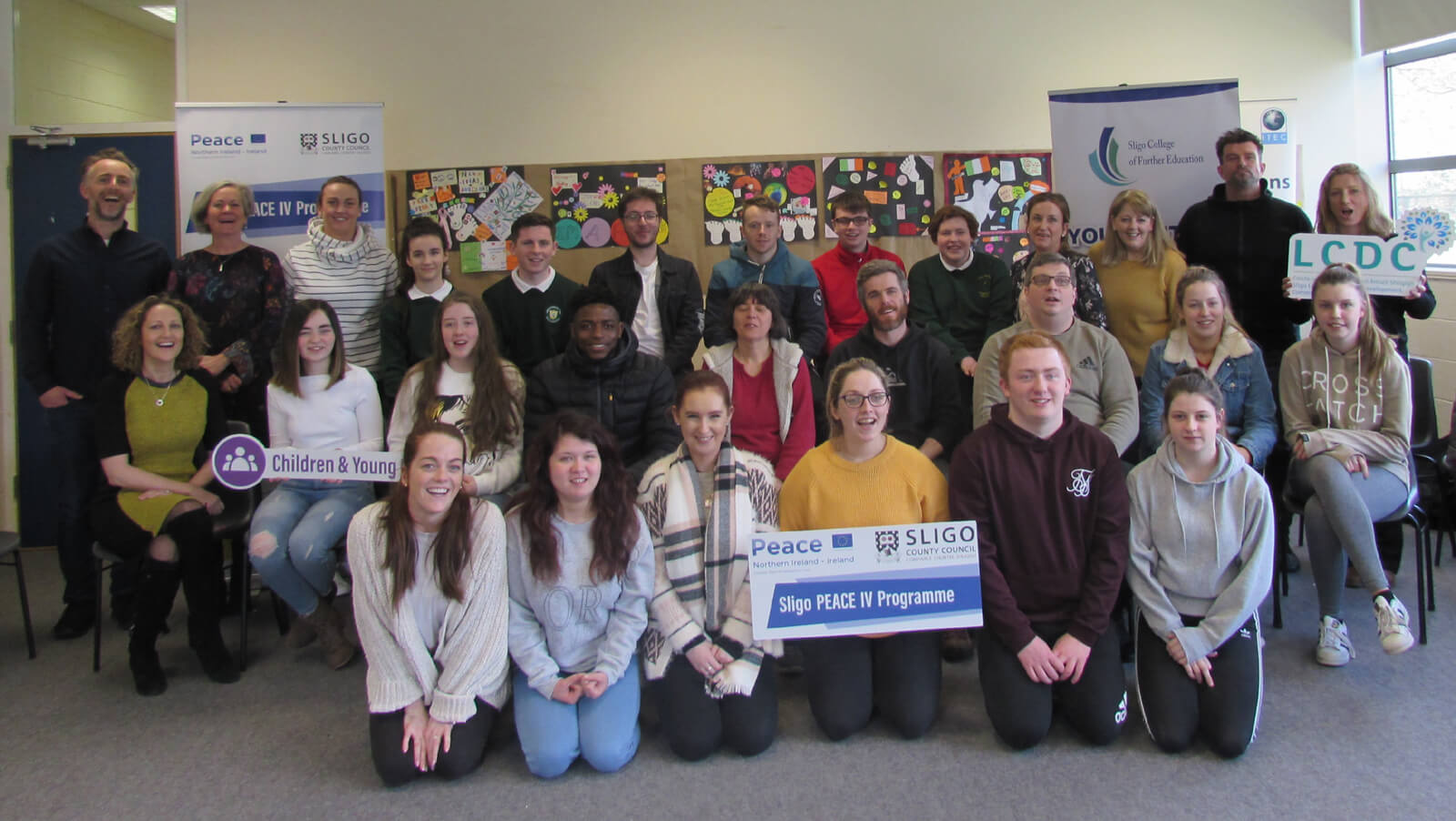 Sligo Students Study Conflict through PEACE