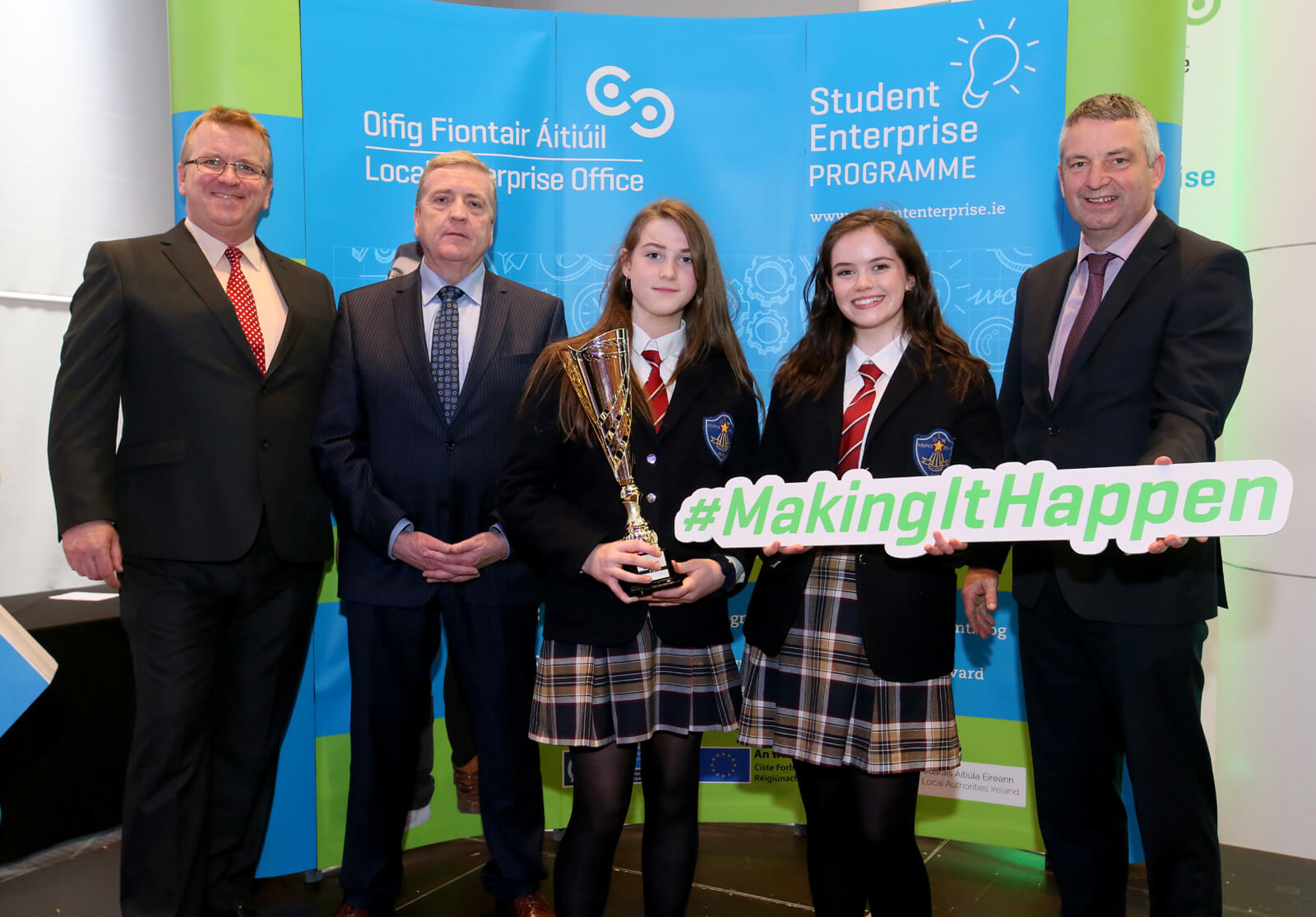 National Success for Mercy College Entrepreneurs in Croke Park