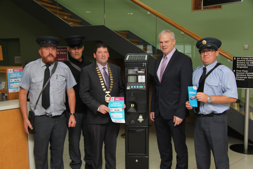 Sligo County Council introduce cashless parking payments