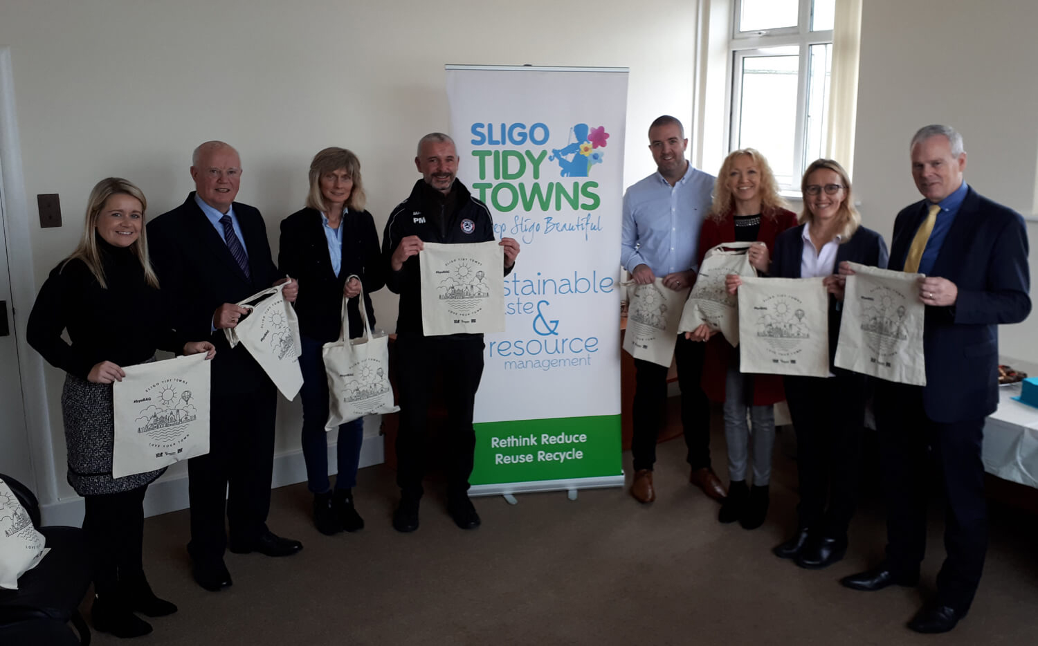 Sligo Tidy Towns Launch their BYOB Reusable Shopping Bag