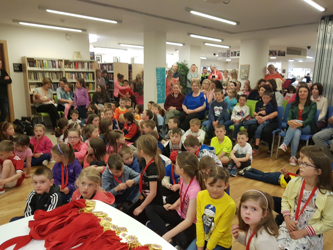 Summer Stars at the ceremony in Community Ballymote Library