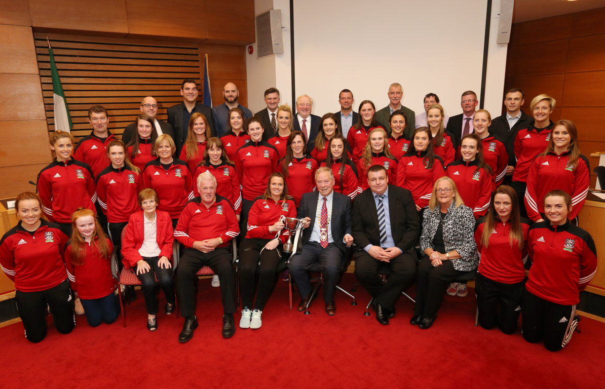 Sligo Ladies Team Honoured by Council Photo 1