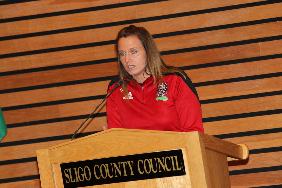 Sligo Ladies Team Honoured by Council Photo 8