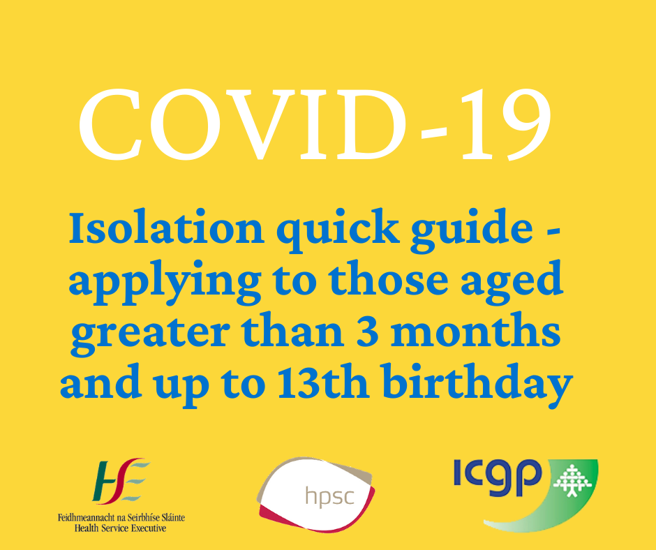 HSE COVID-19 Isolation Guide for Children