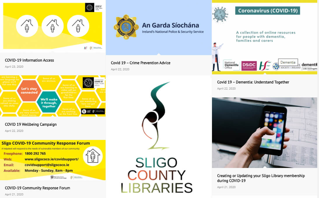 Sligo Library advice and information