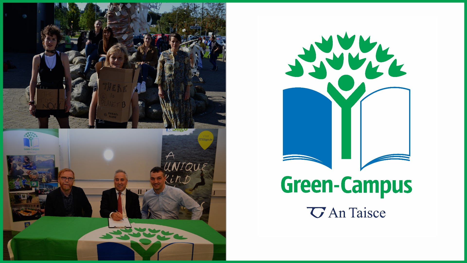 Blog 13 - IT Sligo strives for Green Campus recognition