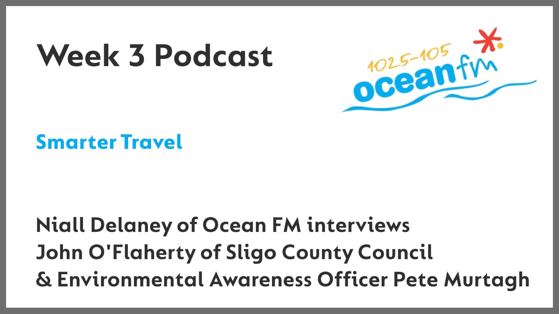 Smarter Travel interview on Ocean FM