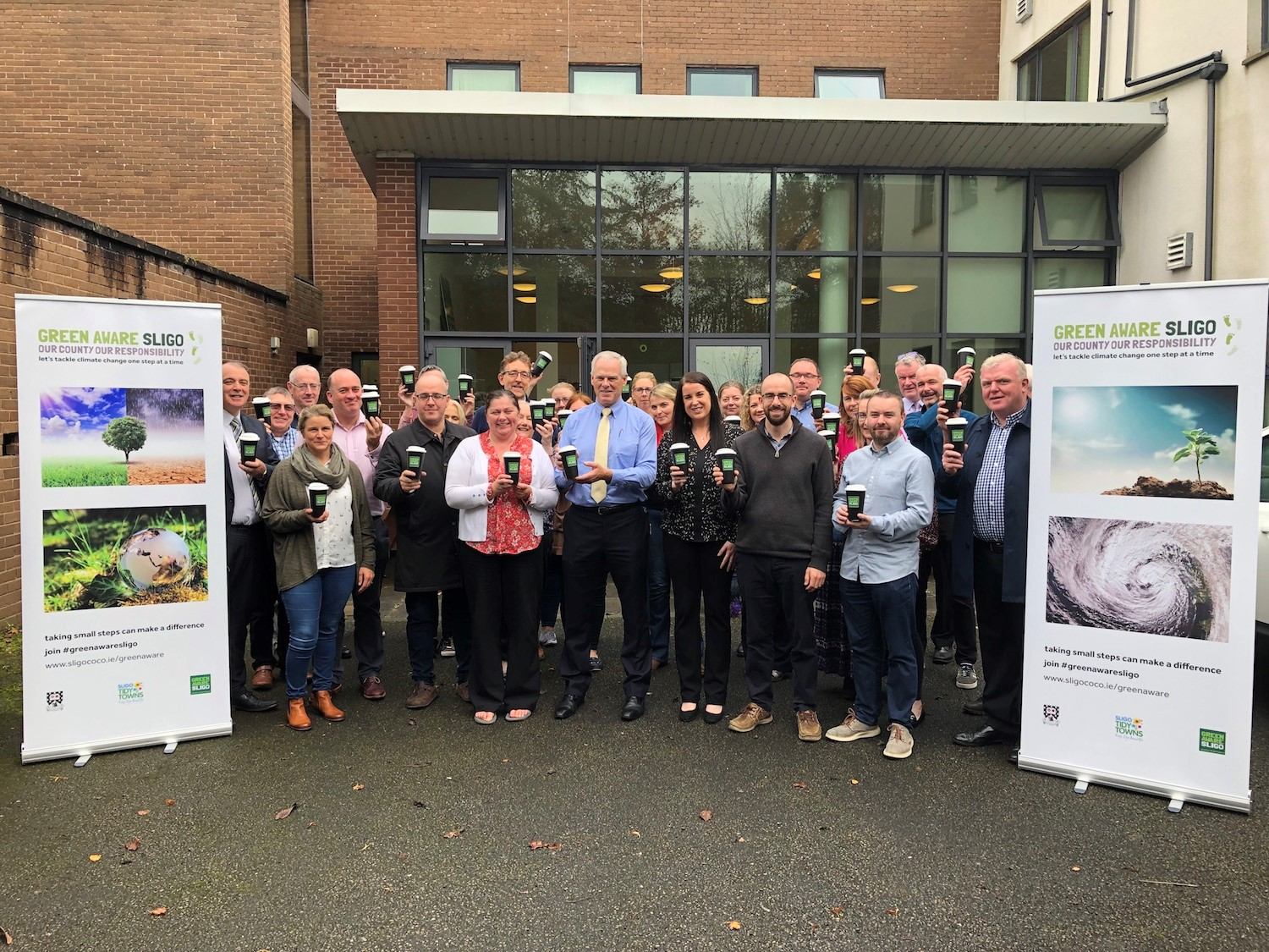 Sligo Co Co keep cups initiative