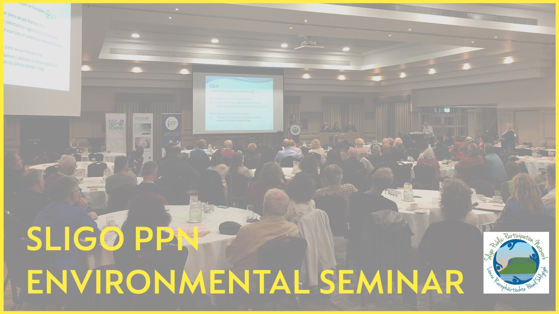 Blog 8 - Environmental Awareness Seminar in Sligo