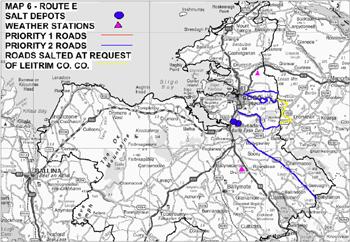 Map 6 - Route E small