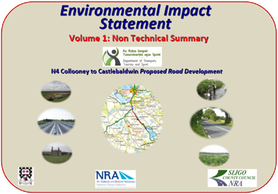 Environmental Impact Statement Volume 1 - Non Technical Summary cover page