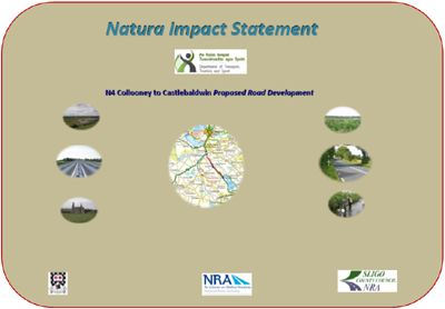 Natura Impact Statement front cover
